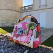 Angeli & Rebel's - sac en cuir - Diane Flower Bomb