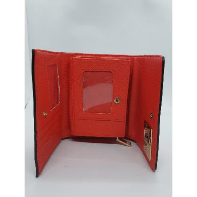 Porte-feuille rouge
