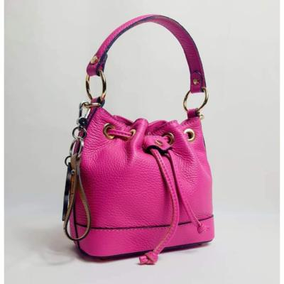 Angeli & Rebel's - sac à main cuir veritable - uzume-fuschia