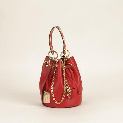 Angeli & Rebel's - sac à main cuir  -Uzume - Rouge