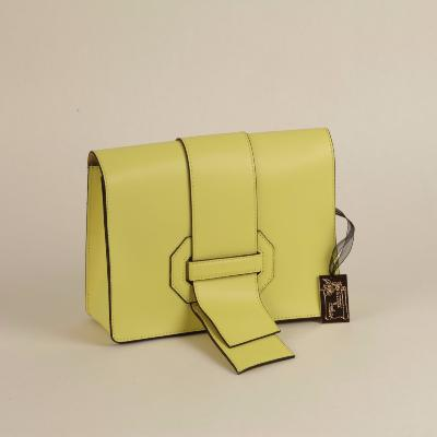 Angeli & Rebel's - sac à main cuir véritable - Libertas - jaune