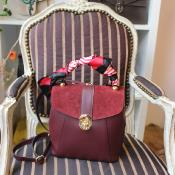 Angeli & Rebel's - sac à dos cuir - Elena Bordeaux