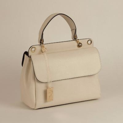 Angeli & Rebel's - sac à main cuir véritable -Lara - beige