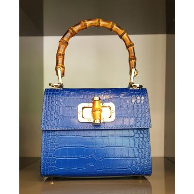Angeli & Rebel's - sac en cuir - Lady A -Bleu